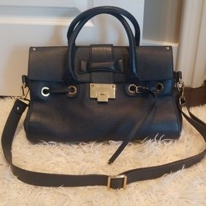 Jimmy Choo Navy Rosalie Bag